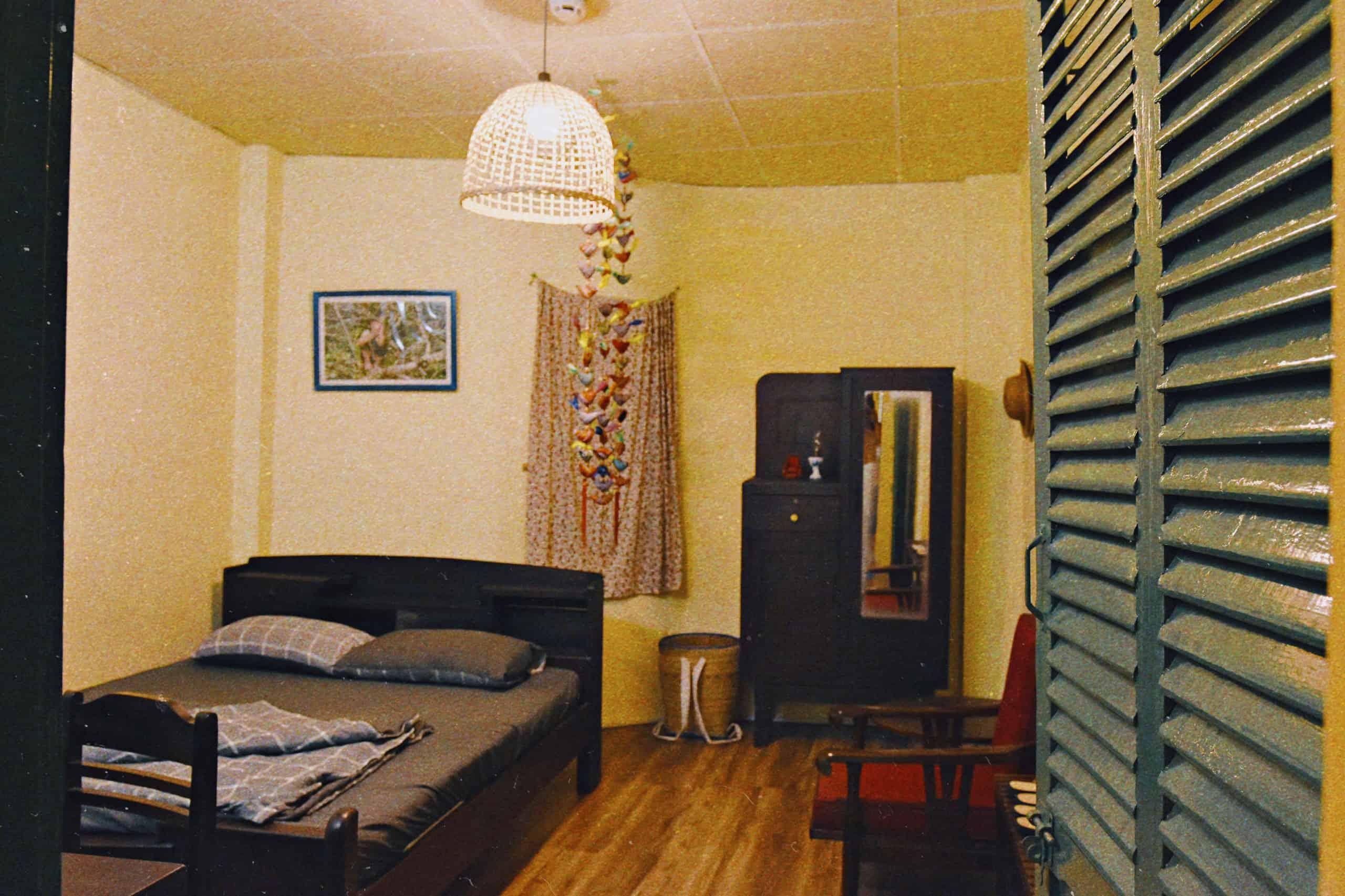 Phòng hoàn thiện nội thất với phong cách xưa truyền thống