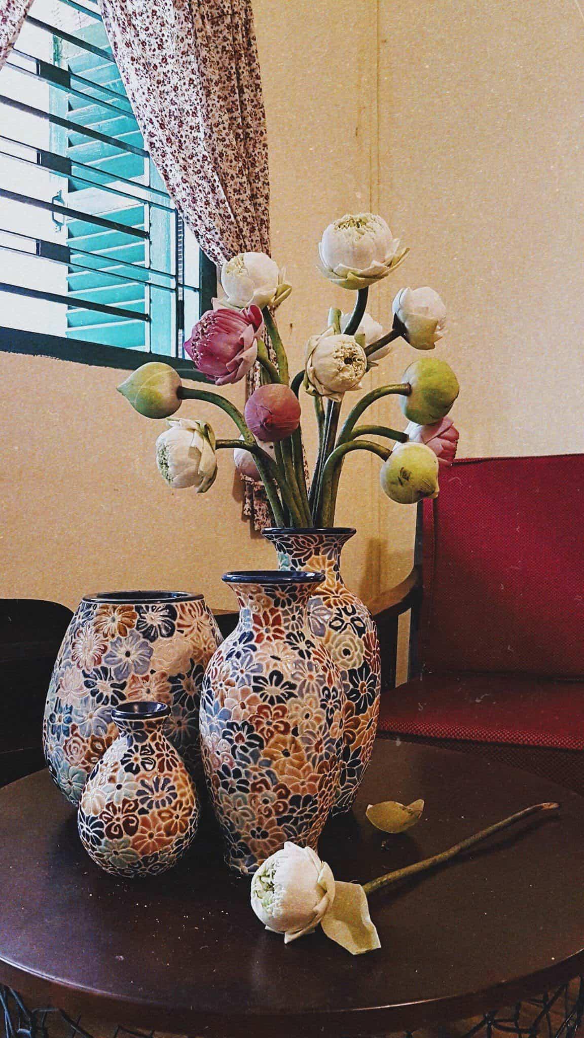 set bách hoa