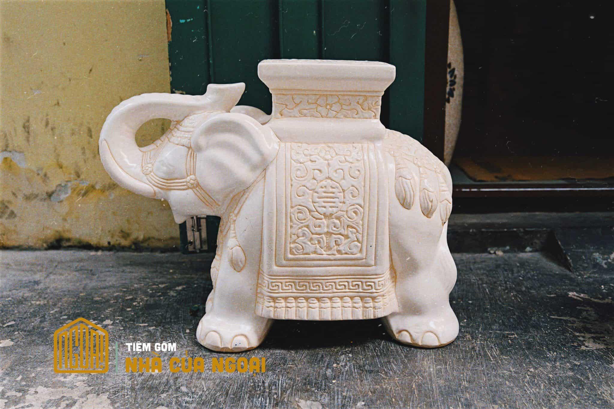 đôn voi trắng